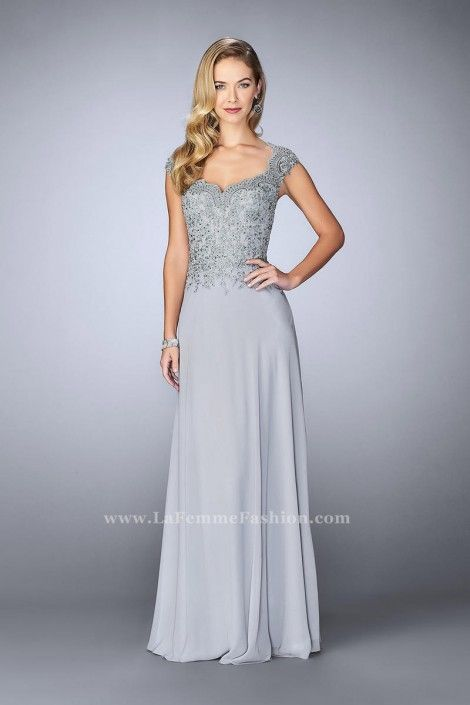 La Femme 23286 Beaded Lace MOB Gown | Pinterest | Gowns