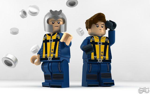 X-Men Superheroes Custom Mini Figures Charles Xavier//Professor X