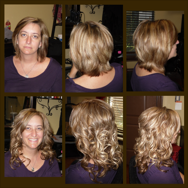 Before After Cinderella Hair Extensionslove Hair Extensions