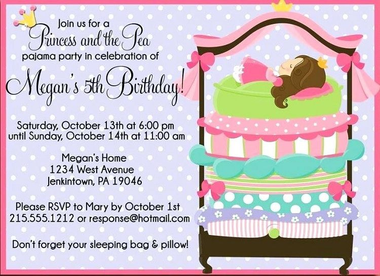 Birthday Invitation Card In French Poodle