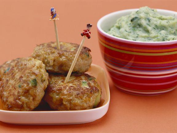 Bunte Frikadellen mit Kartoffel-Brokkoli-Brei ist ein Rezept mit frischen Zutaten aus der Kategorie Fleisch. Probieren Sie dieses und weitere Rezepte von EAT SMARTER!