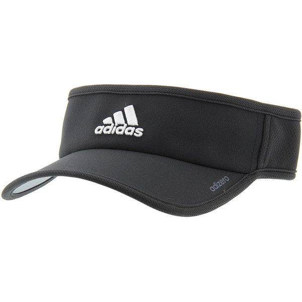 adidas Adizero II Visor Men s Black Hats One Size ( 18) ❤ liked on Polyvore  featuring men s fashion 13d206cf2eb