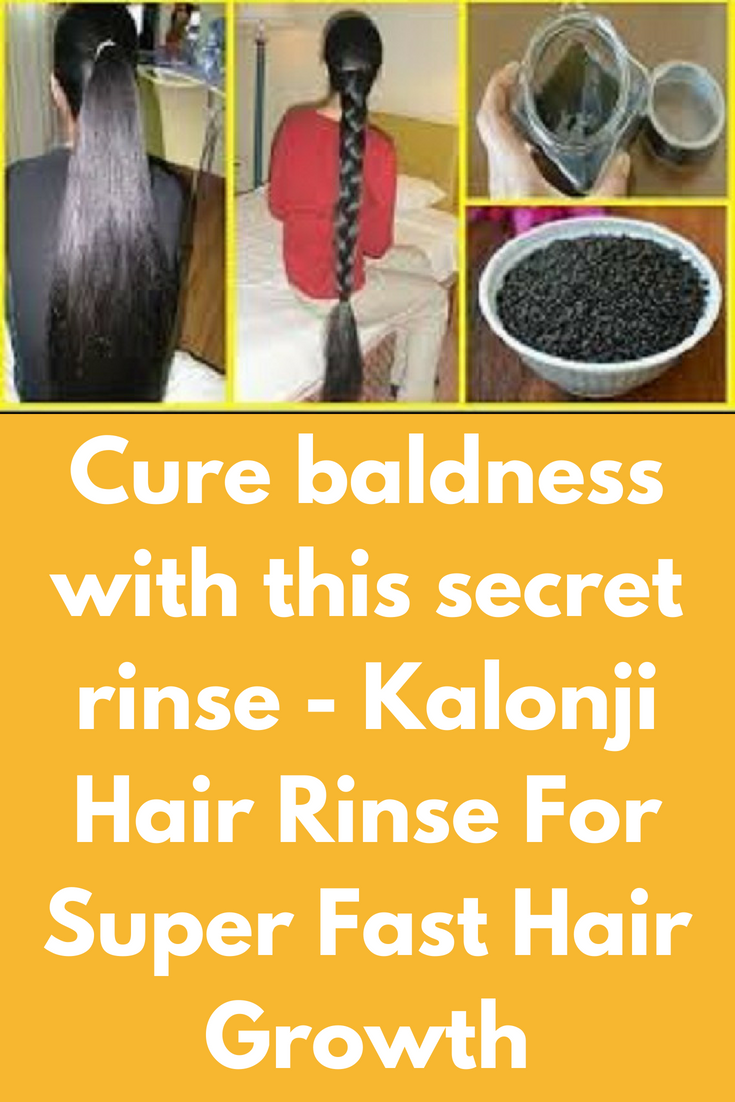 Cure baldness with this secret rinse  Kalonji Hair Rinse For Super