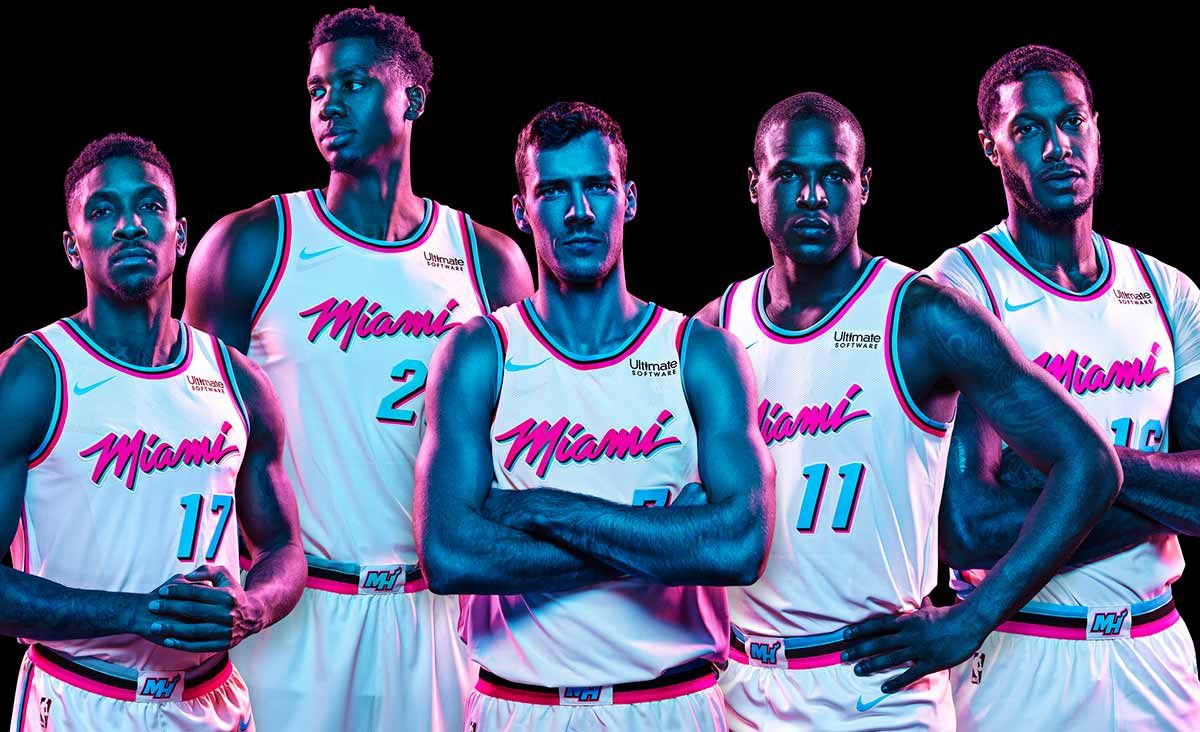 Miami HEAT Vice Uniform Collection  2785a3688