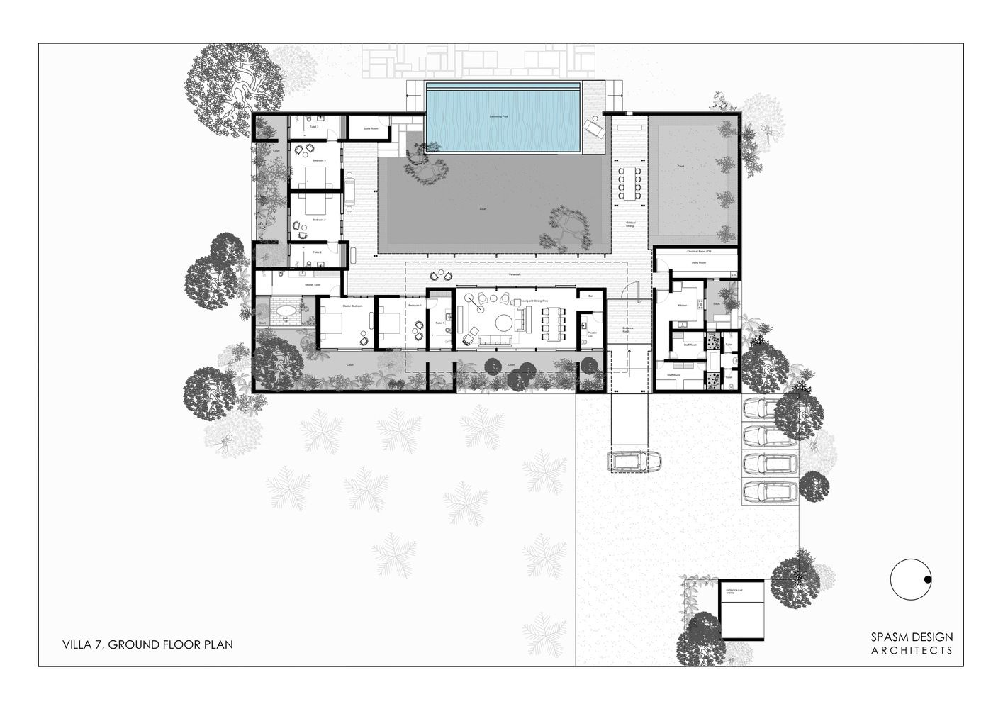 The Twin Houses Spasm Design Architects Architect Design Floor Plans Architect
