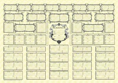 family tree chart genealogy pinterest family tree chart