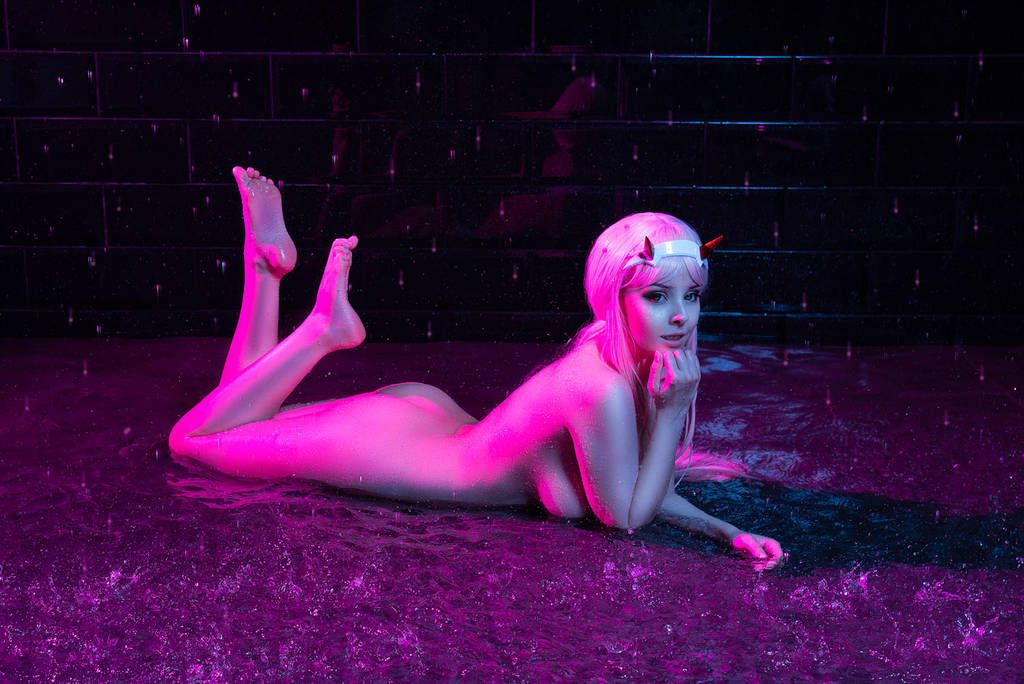 Not absolutely zero two cosplay nude