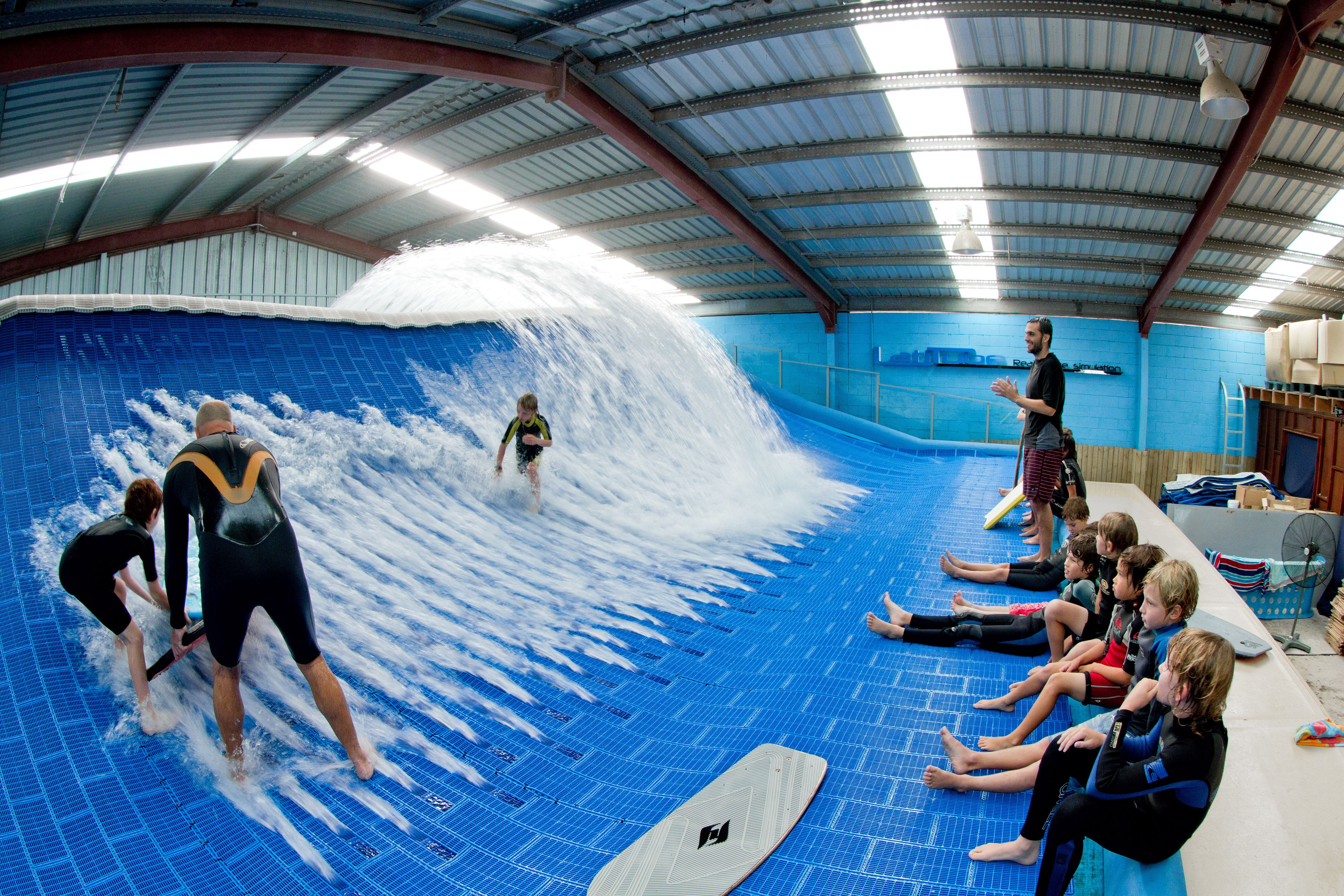 Latitube Wave Pool Fun For All Ages This Artificial Wave
