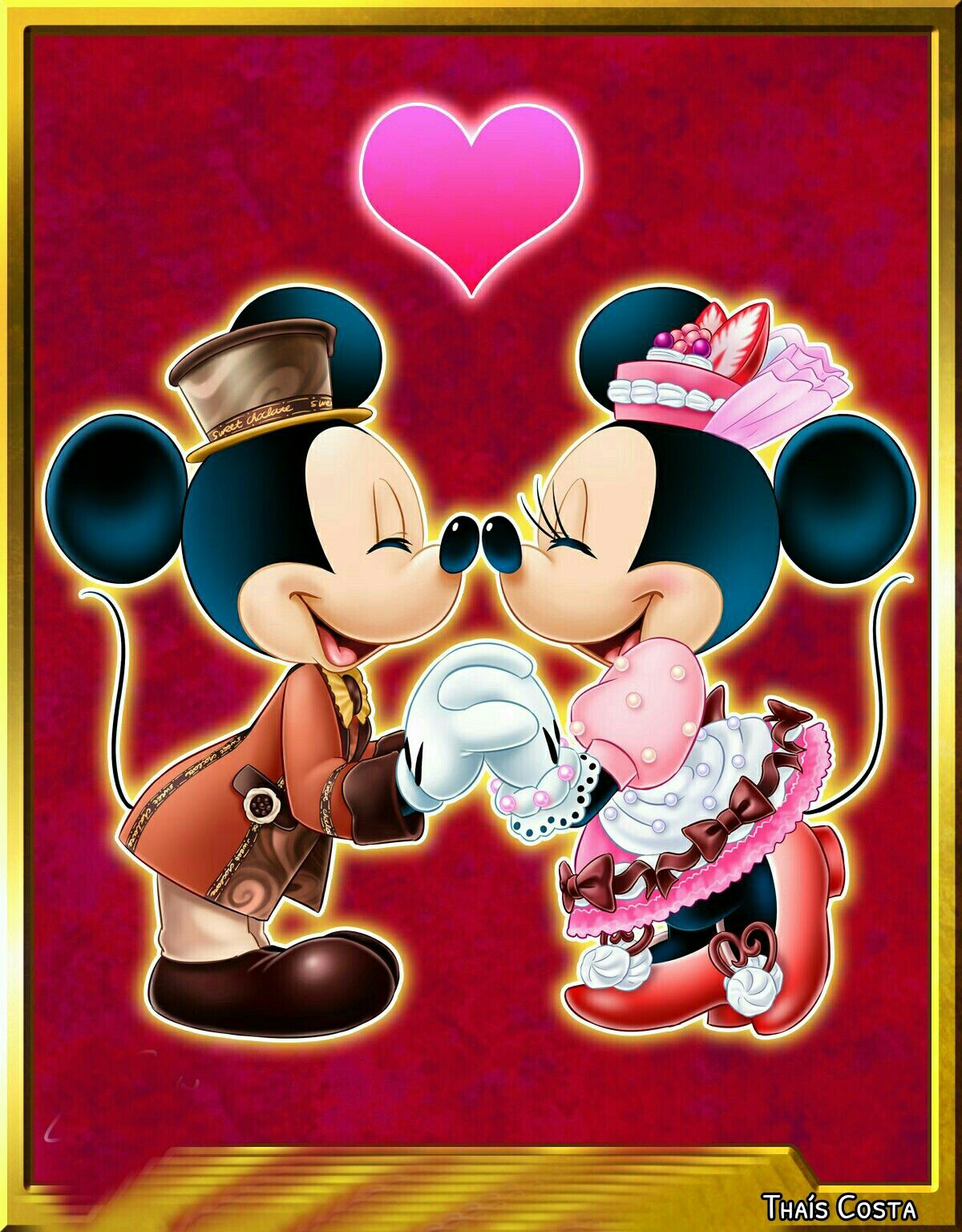 A Table Is Waiting Tokyo Disneyland Minnie Mouse Pics Mickey Mouse Wallpaper Mickey Mouse Art