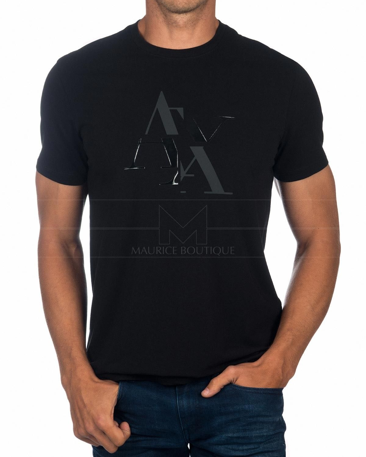 24b201e999cda0 Camiseta Armani Exchange - The Green Code in 2019