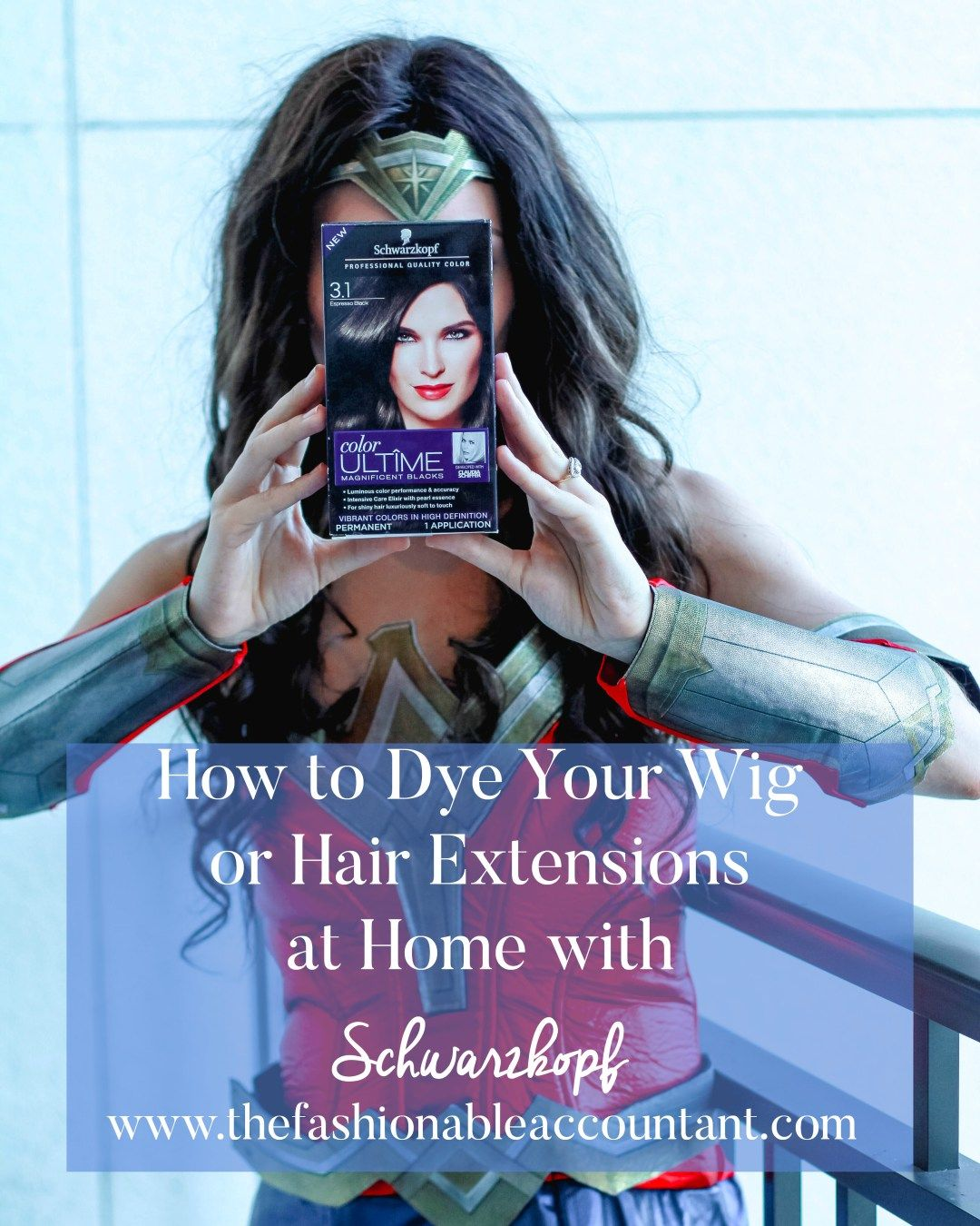 Dye your wig and hair extensions at home hair extensions
