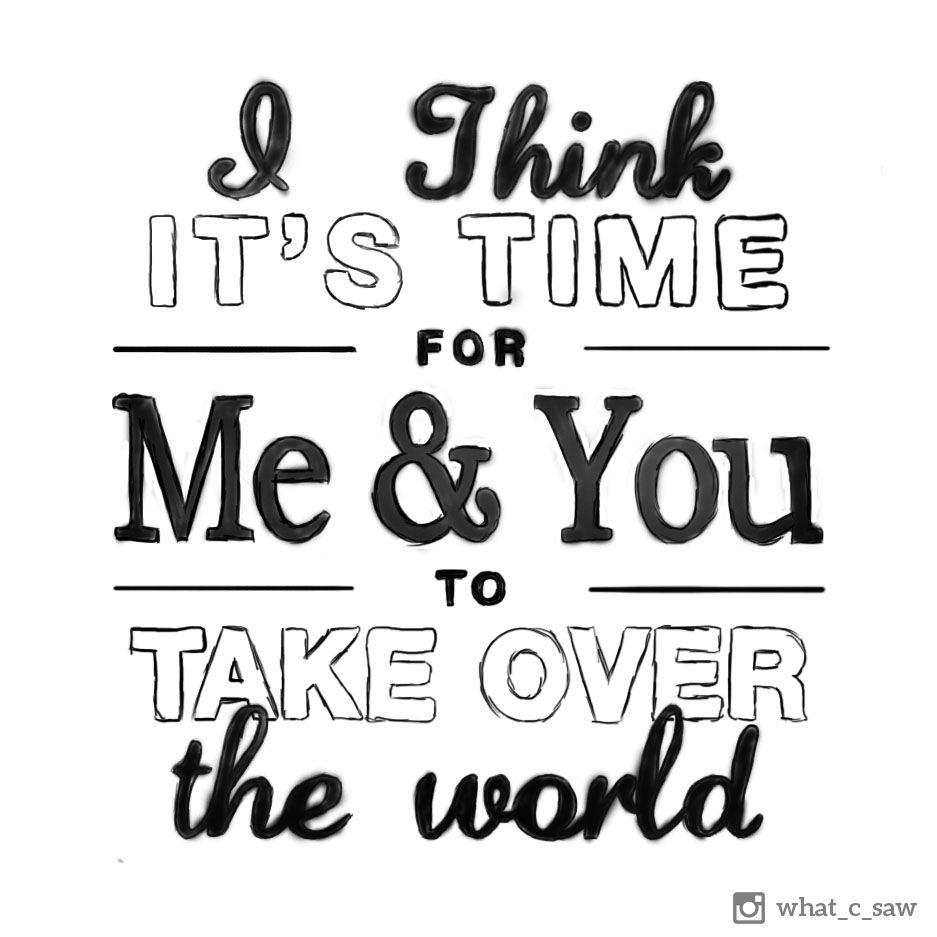 Lyrics to the take over