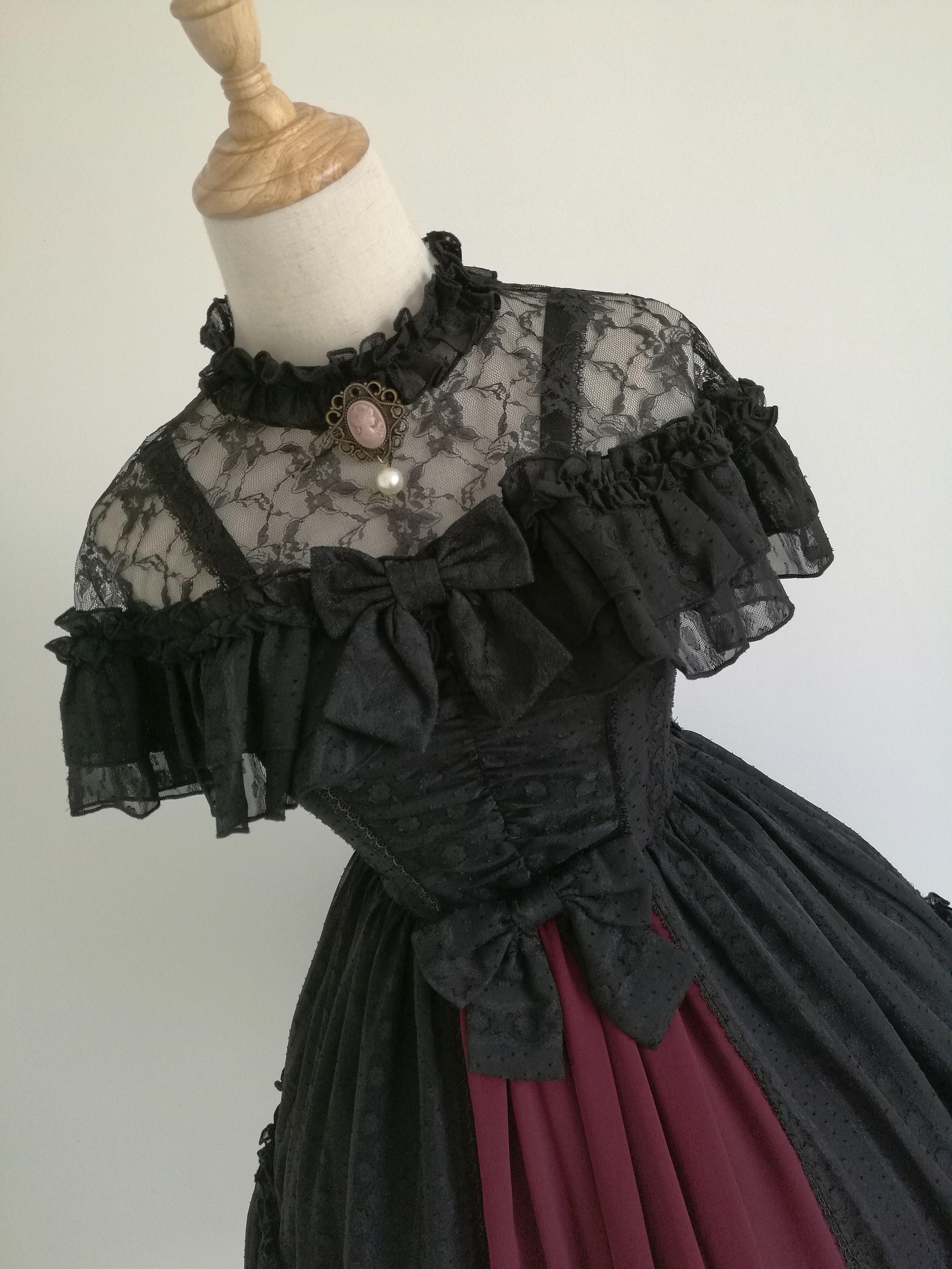 726ae9bff754 ◇蔷薇丛◇JSK定金页面-淘宝网全球站 | Girl clothing in 2019 | Gothic ...