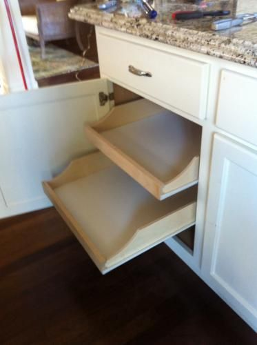 Rolling Shelves 22 In Deep Do It Yourself Pullout Shelf Rsdiy22 At The Home Depot Mobile Building Kitchen Cabinets Kitchen Built Ins Kitchen Remodel