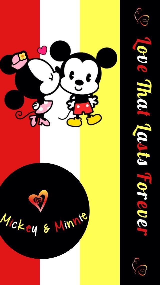 Iphone Wallpaper Valentine S Day Tjn Mickey Minnie