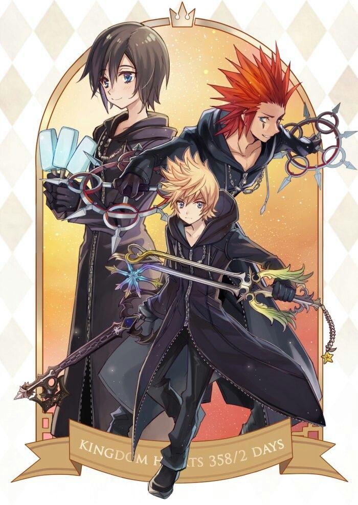 Kingdom Hearts 358/2 days by 7KE @OKE_7kh | Roxas kingdom hearts ...