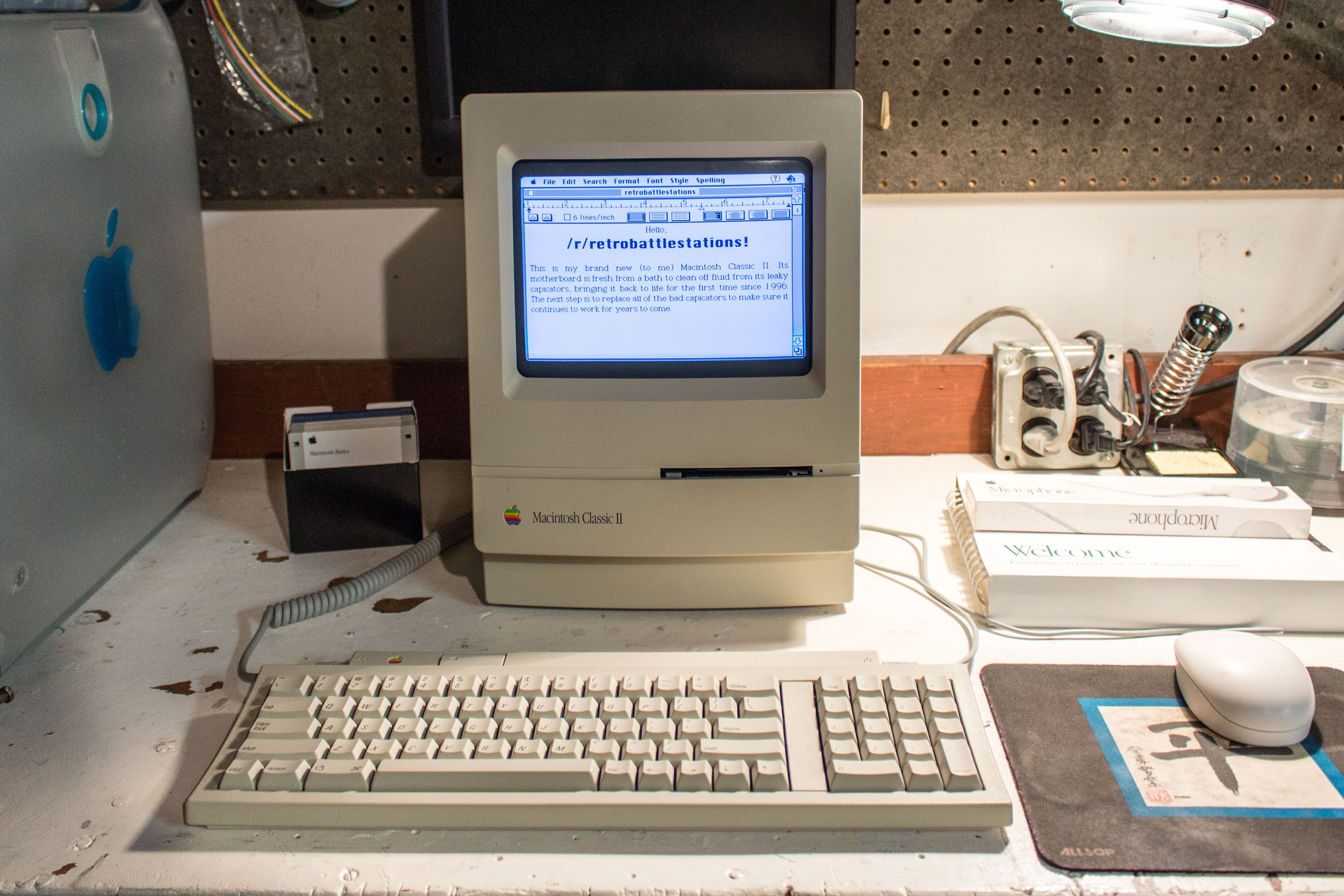 Mac Classic II | Mac World in 2019 | Apple mac, Old computers