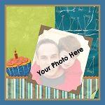 Birthday Boy Photo Throw