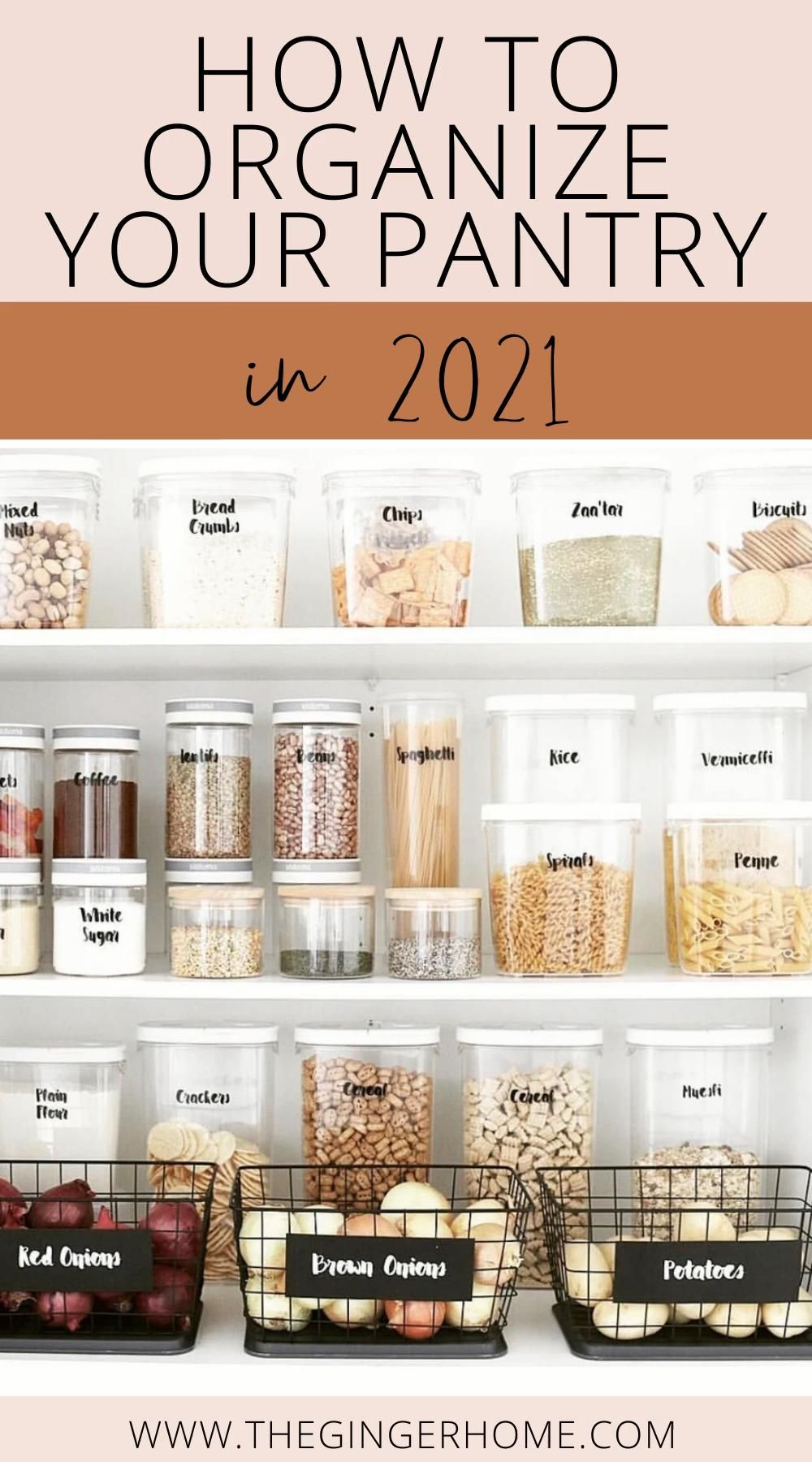 Realistic Tips for Pantry Organization