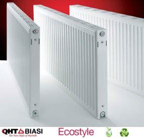 B 16 32 Eco Flat Panel Hot Water Steel Hydronic Radiator H X L 4 337btu 195