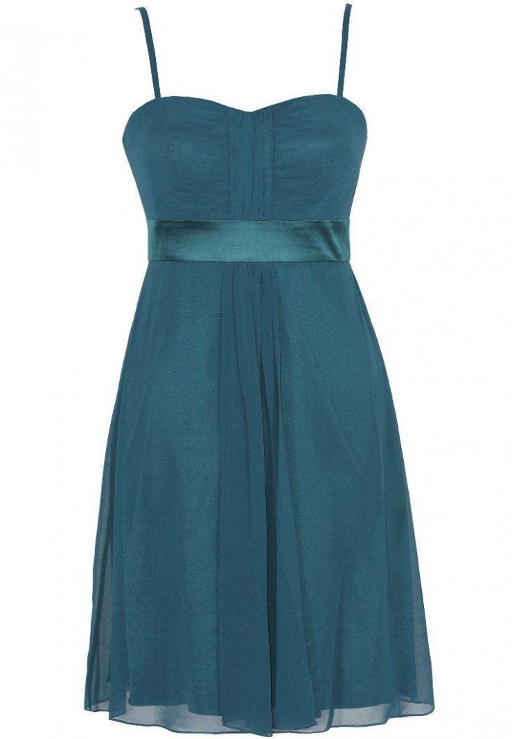 14 Abendkleid Benzin | Kleider, Abendkleid, Abendkleid petrol