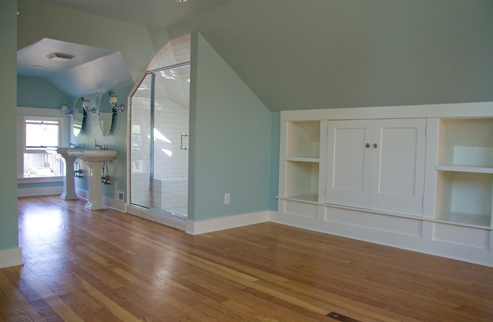 attic master suite transformation http://kellyraeroberts.blogspot