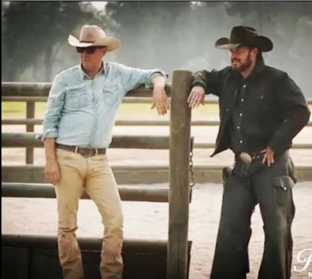 John And Rip Yellowstone Series Cole Hauser Tv Westerns