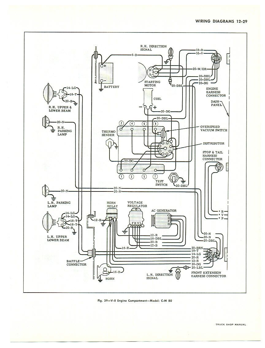85    Chevy    Truck    Wiring       Diagram         diagram    is for large trucks but is similar to pick up truck