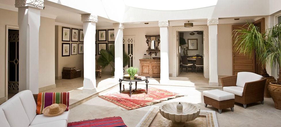 Moroccan Villa 12 Fuses Contemporary Style With Culture