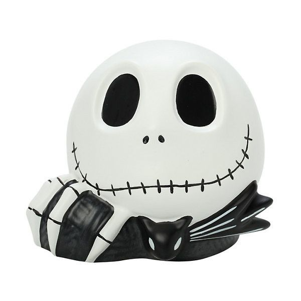 The Nightmare Before Christmas Jack Head Bank Hot Topic (87 BRL) ❤ liked on Polyvore featuring home, home decor and christmas home decor