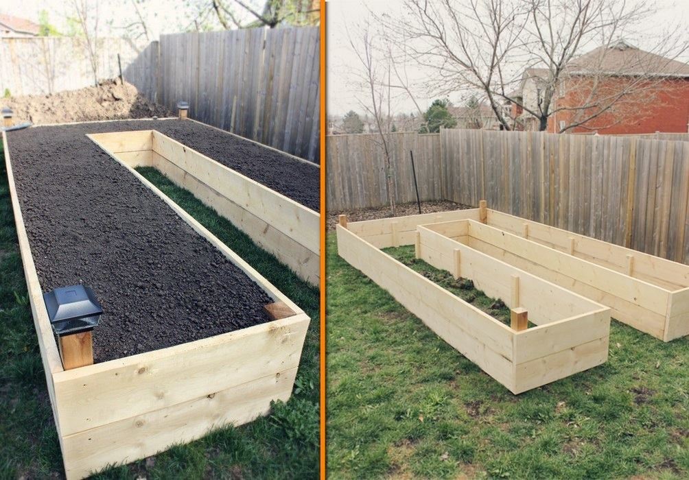 Garden box design ideas