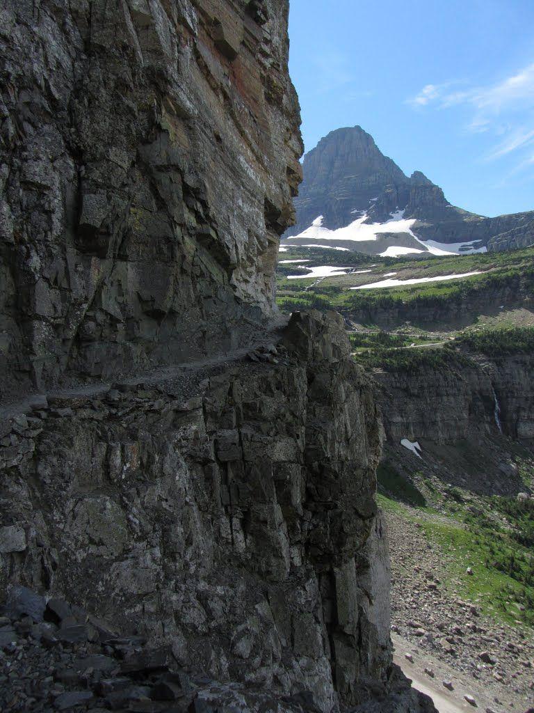 Garden Wall Trail Panoramio Photo Of Garden Wall Trail Glacier