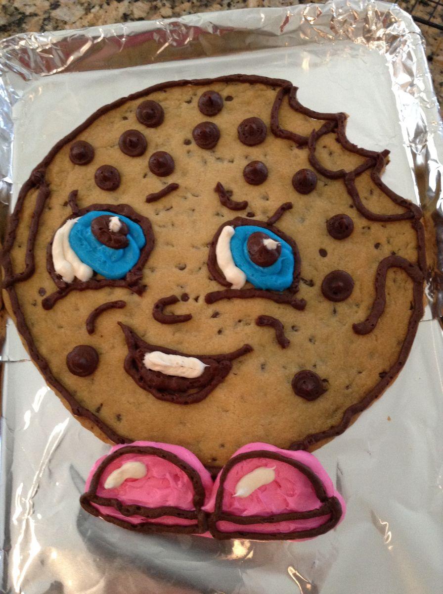 Homemade Shopkins Cookie Cakes
