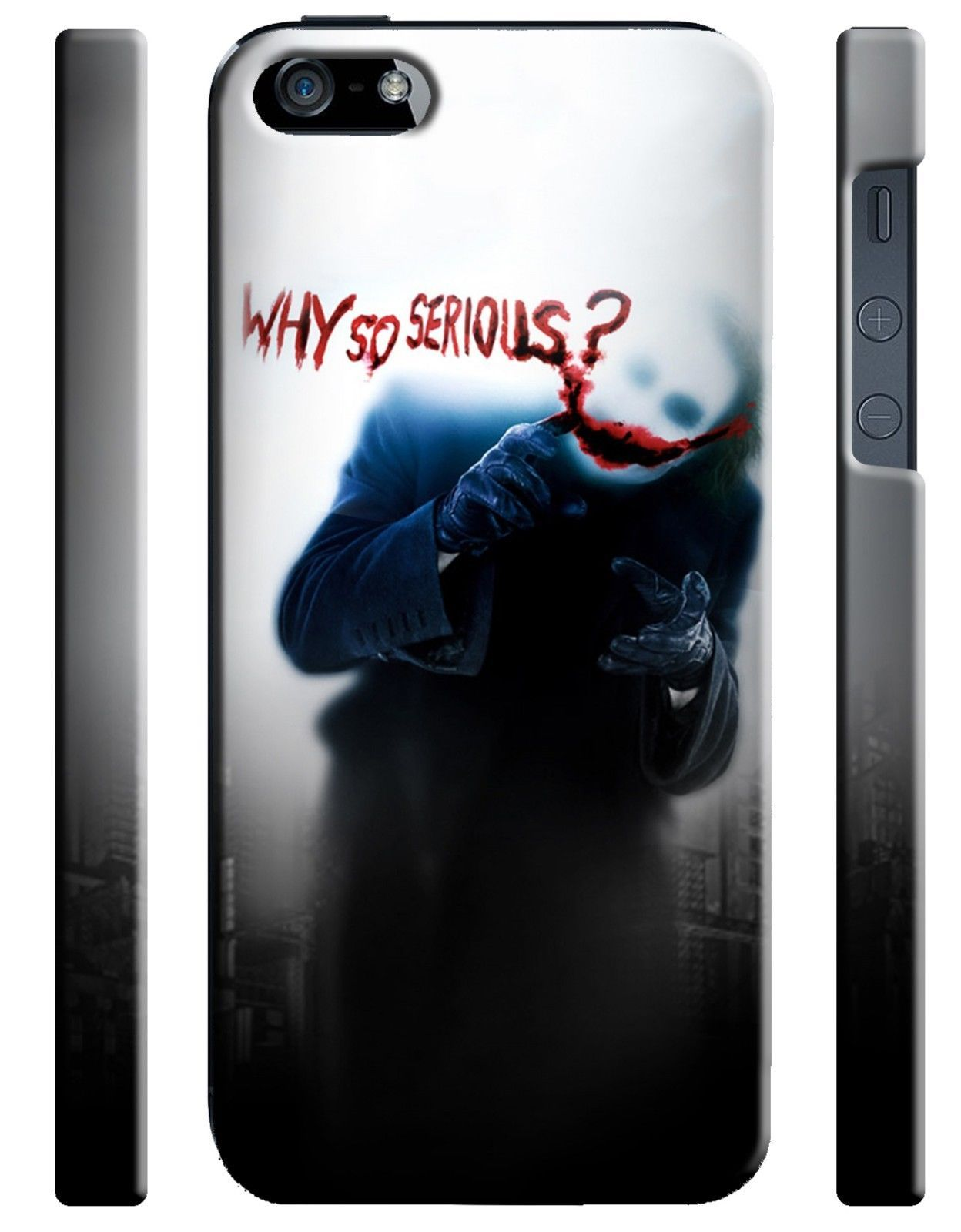 Iphone 4s 5 5s 5c 6 6s 7 Plus Case The Joker Why So Serious Dark Knight Batman Ebay Joker Dark Knight Iphone Cases