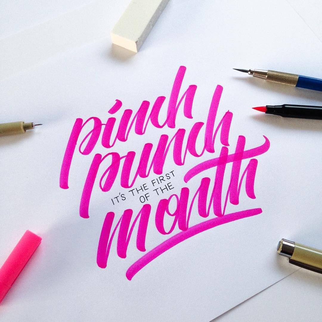 «Pinch punch it's the first of the month! - A day late but never the less it's still the beginning of a new month! »