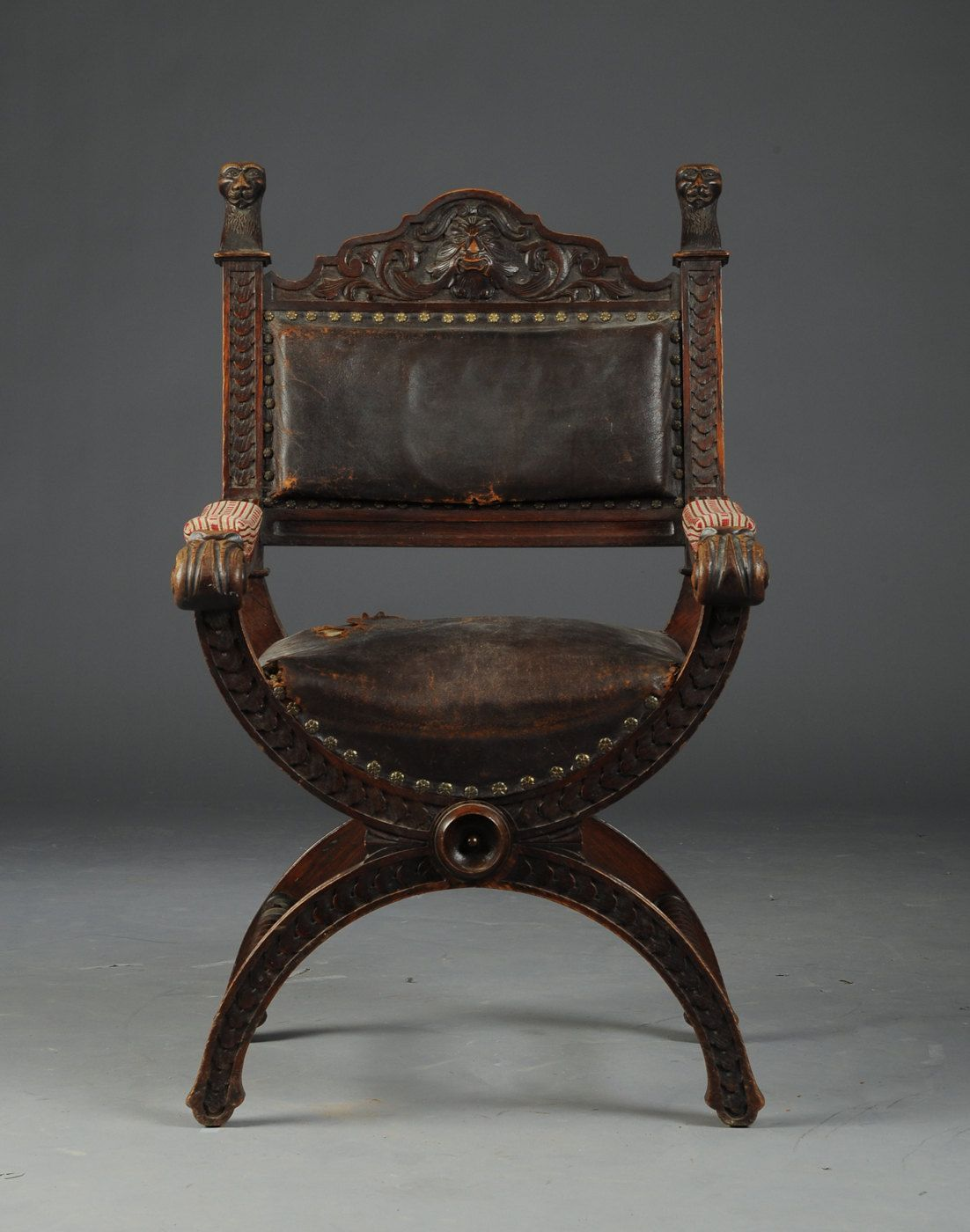 Design glossary savonarola and dante chairs apartment therapy - Revival Renaissance Chair 1820