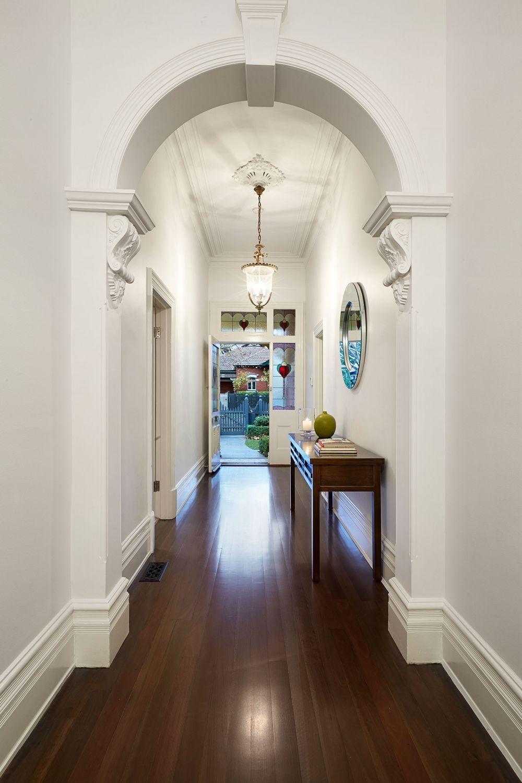 Interior Room Arches Decoration Ideas. White Plaster