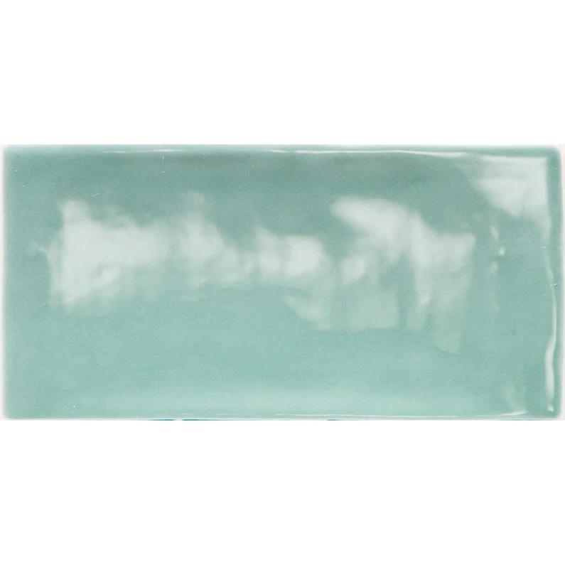 Faience Mur Vert Olive Brillant L 7 5 X L 15 Cm Bakerstreet