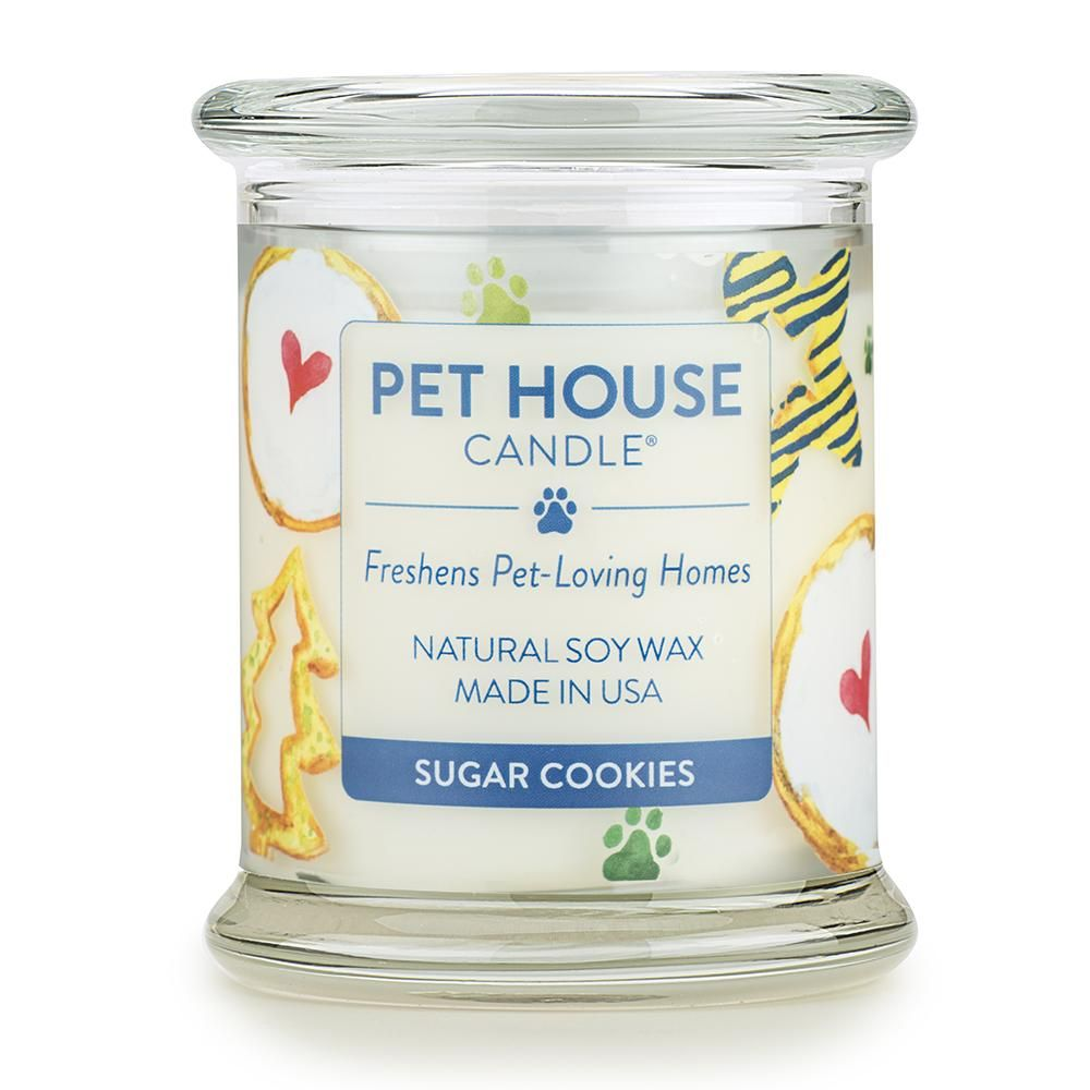 Sugar Cookies Candle Natural Soy Wax Candles Pet Odor Candles Soy Wax Candles