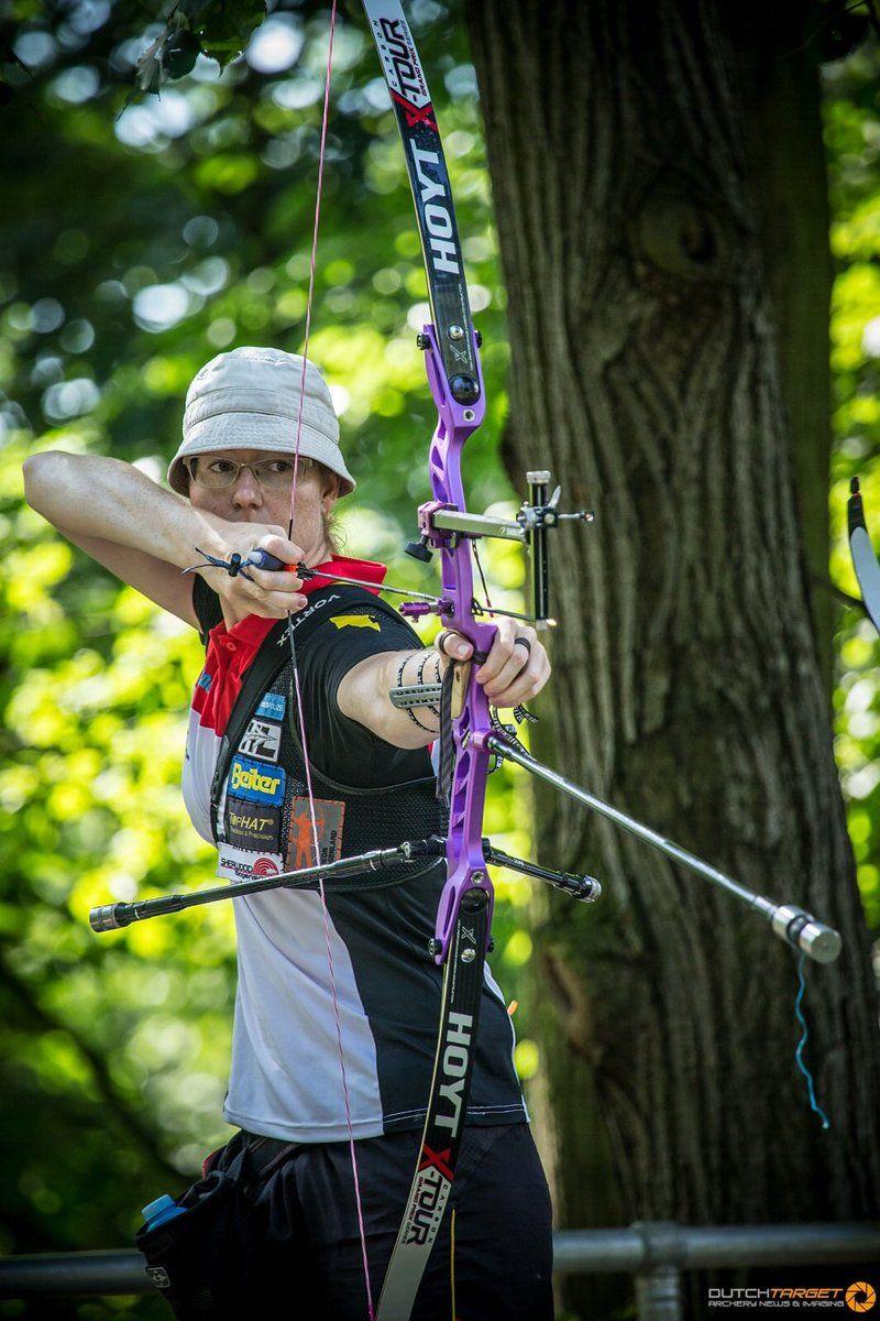 Lisa Unruh, Shrewd Revel Stabilisers, Hoyt Epik | ARCHERY | Archery