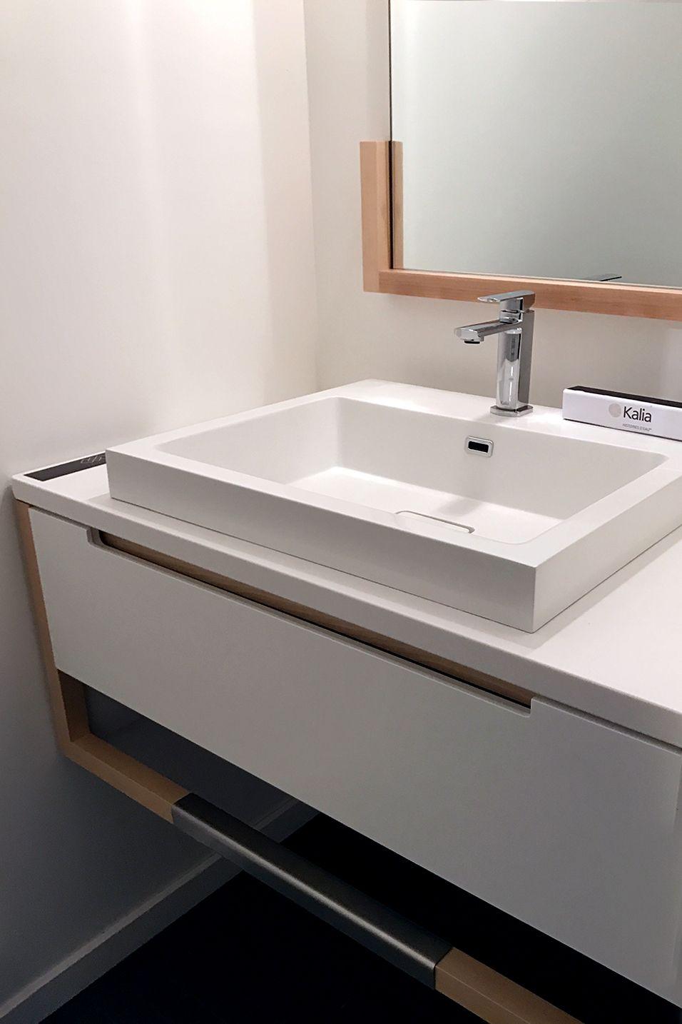 GRAFIK lavatory faucet and JOKI lavatory in the Thinking Habitat ...