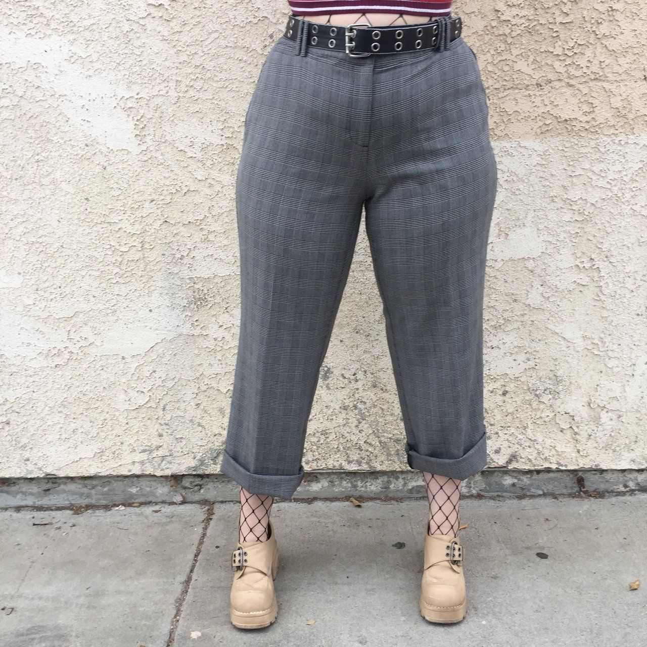 dca1b1262d6aab Listed on Depop by isabel_hendrix in 2019 | My vintage | Plaid pants ...