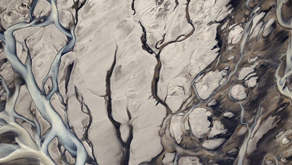 Island - Langjökull - Islands nest største isbre - viser seg fra en spektakulært vakker side - Foto: Haarberg Photography / Barcroft / Haarberg Photography / Barcroft/Bulls