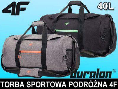 Torba Sportowa Treningowa Podrozna 4f Tpu006 40l 6138035219 Oficjalne Archiwum Allegro Bags Duffle Duffle Bag