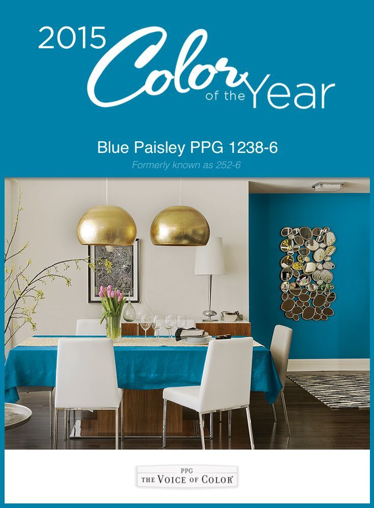 blue paisley ppg pittsburgh paint s 2015 color of the year just