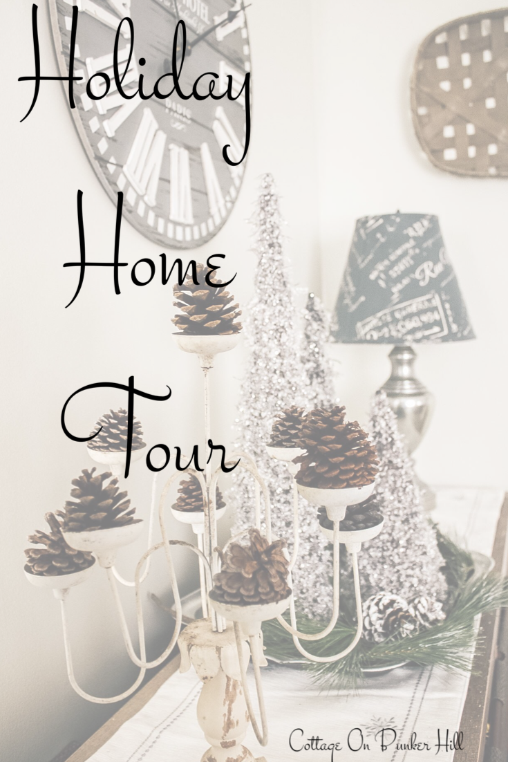 Holiday Home Tour #hometour #christmasdecor #christmashome #cottagestyle