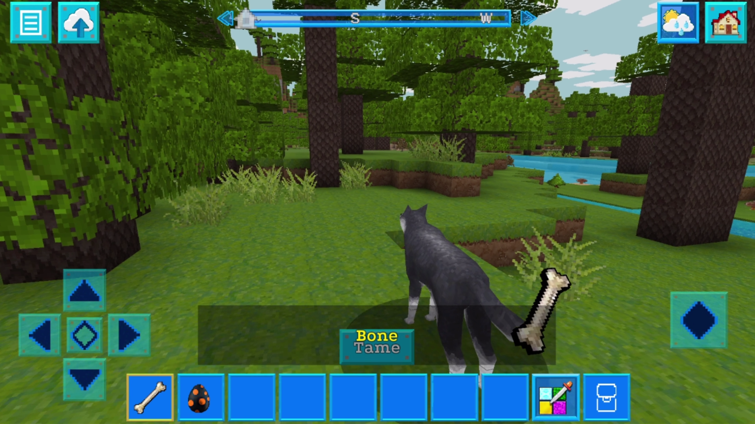 how to tame wolves in minecraft without bones