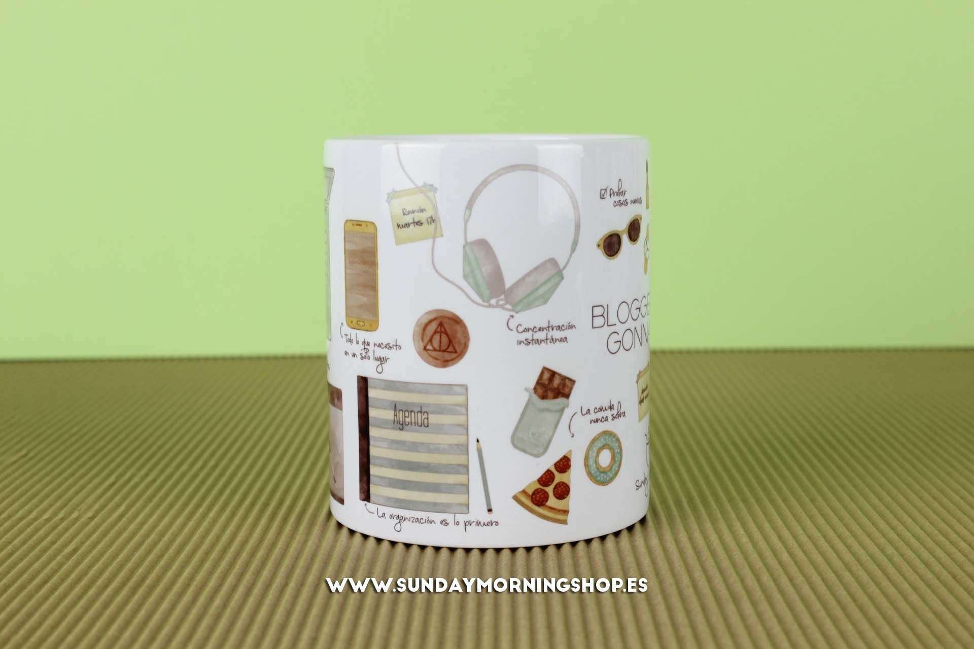 "Taza ""Bloggers Gonna Blog"" – Sunday Morning Shop"