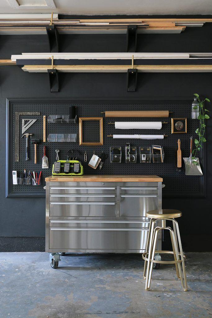 Garage Turned Classy Workshop