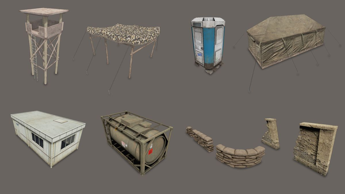 An Introduction to Game Props Modelling 3D Game Asset